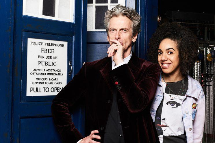 Peter Capaldi and Pearl Mackie in 'Doctor Who' (Credit: BBC America)