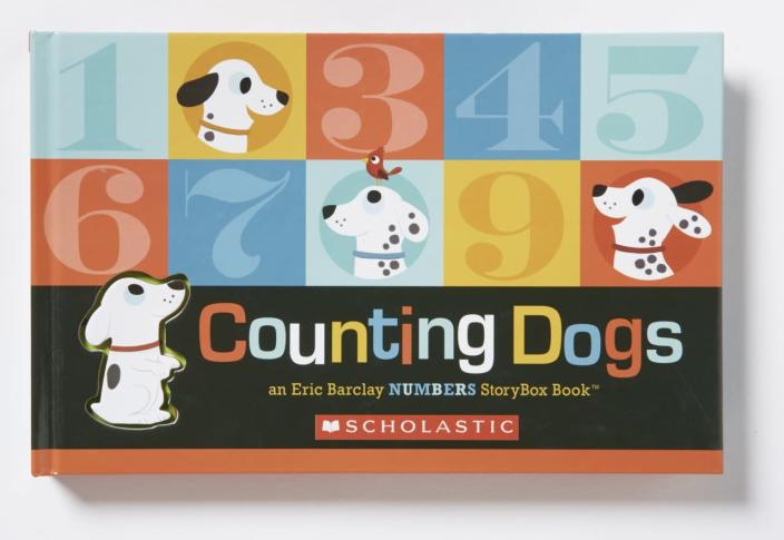 "<p>""The format won families over: Bound in a sturdy box, the book contains graduated pages and die-cut tabs,"" writes <i>Parents </i>editor Karen Cicero. ""Turning each one reveals an adorable spotted dog encountering an increasing number of animals, such as three turtles, nine fish, and, finally, ten counting dogs that look just like him."" <a href=""http://www.amazon.com/Counting-Dogs-Numbers-Storybox-Book/dp/0545783925/ref=sr_1_1?s=books&ie=UTF8&qid=1446748246&sr=1-1&keywords=counting+dogs"" rel=""nofollow noopener"" target=""_blank"" data-ylk=""slk:Buy"" class=""link rapid-noclick-resp"">Buy</a> for kids ages 1 to 4. <i>(Photo: Cartwheel Books)</i></p>"