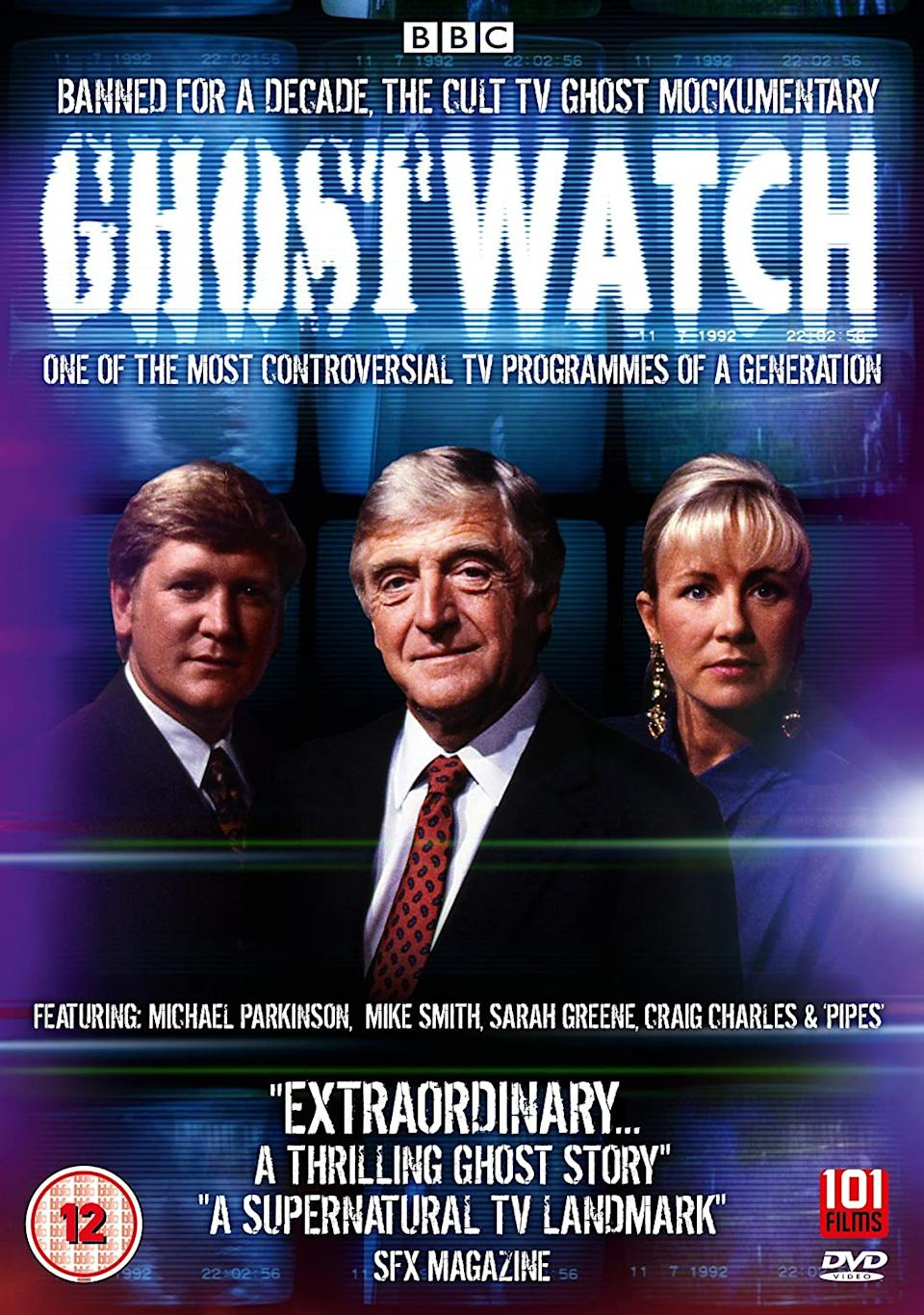 The DVD cover for Ghostwatch. (101 Films)