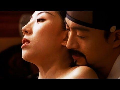 "<p><strong>Release date: </strong>October 2, 2003</p><p><strong>Starring: </strong>Bae Yong-joon, Jeon Do-yeon, and Lee Mi-sook<br></p><p><strong>The sexy story: </strong>Based on the French novel <em>Les Liaisons dangereuses </em>(aka <em>Dangerous Liasons</em>), this Korean drama centers on a bored woman named Madam Jo who knows her husband is pining for a 16-year-old virgin named So-ok. Jo's solution? Send her cousin, Jo-won, to seduce So-ok before her husband has a chance to. And things only get more complicated (and more sexy) from there. </p><p><a class=""link rapid-noclick-resp"" href=""https://smile.amazon.com/Untold-Scandal-Mi-sook-Lee/dp/B086GQBJ9J/?tag=syn-yahoo-20&ascsubtag=%5Bartid%7C10058.g.27140597%5Bsrc%7Cyahoo-us"" rel=""nofollow noopener"" target=""_blank"" data-ylk=""slk:WATCH IT"">WATCH IT</a></p><p><a href=""https://www.youtube.com/watch?v=YBKm7UtYyjk"" rel=""nofollow noopener"" target=""_blank"" data-ylk=""slk:See the original post on Youtube"" class=""link rapid-noclick-resp"">See the original post on Youtube</a></p>"