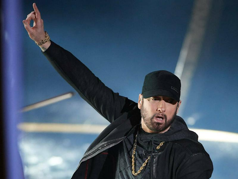 "Eminem performte seinen Hit ""Lose Yourself"" bei den Oscars (Bild: imago images/ZUMA Press)"