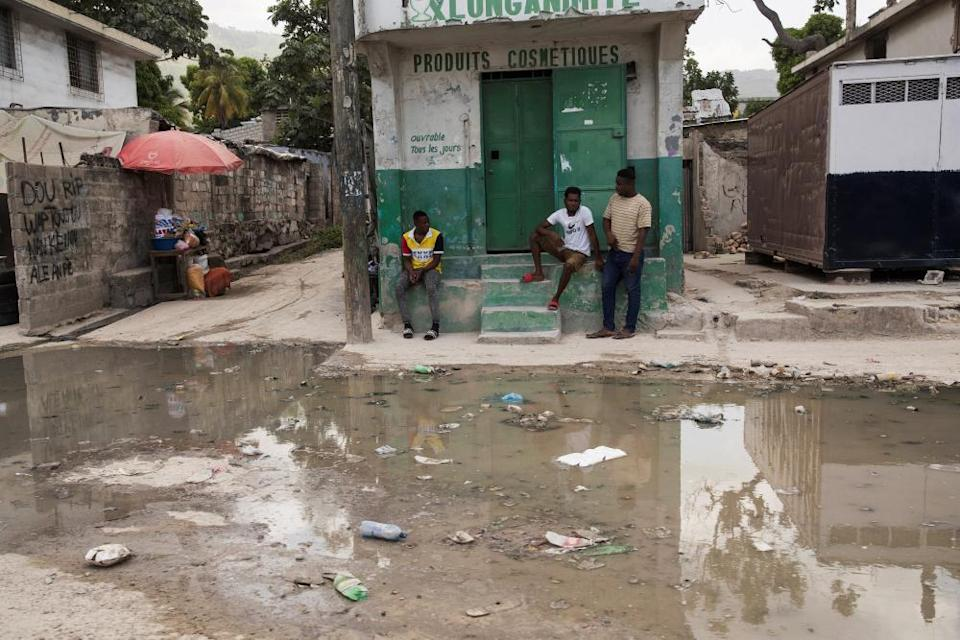 The Martissant neighborhood in Port-au-Prince, Haiti, which was affected by the recent 7.2 magnitude earthquake is controlled by armed gangs.