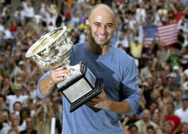 FILE PHOTO: Born on April 29, 1970: Andre Agassi, American tennis player