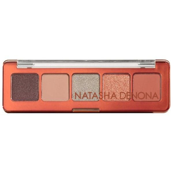 <p>The bronzed shades in the <span>Natasha Denona Mini Zendo Eyeshadow Palette</span> ($25) make us think of a sunset in the desert, so send someone's eyes on vacation instead.</p>