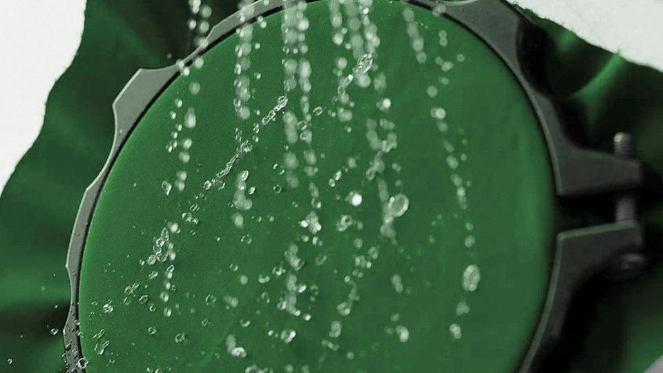 OrganoTex mimics the properties of lotus leaves, which are naturally water repellent