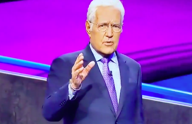 Alex Trebek Praises 'Jeopardy' Contestant for Doing 'Something That Never Happens' on 'Jeopardy' (Video)
