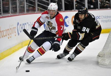 NHL: Florida Panthers at Anaheim Ducks