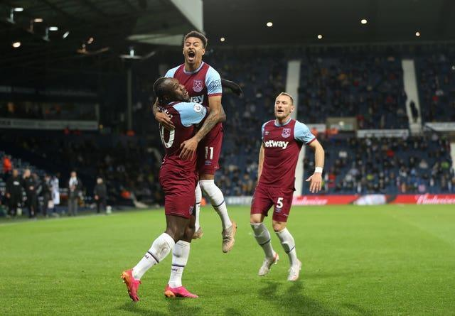 West Ham will qualify for the Europa League if they avoid defeat against Southampton (Molly Darlington/PA).
