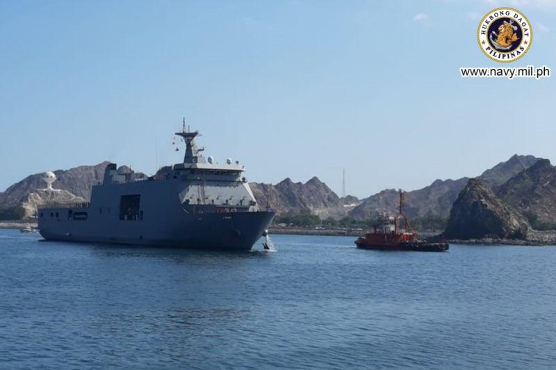 2 ships in Oman for repatriation of Filipinos from Middle East