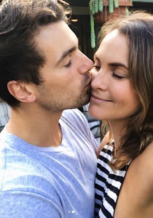 He wishes he would've introduced himself to Laura before filming began. The pair have been totally loved-up after being able to go public with their relationship. Source: Instagram