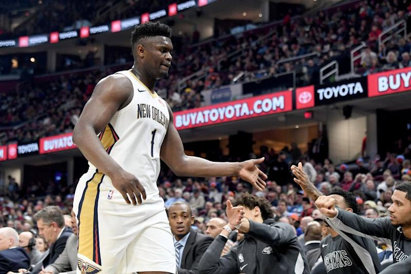 Zion Williamson, Luka Doncic headline rosters for NBA Rising Stars Game