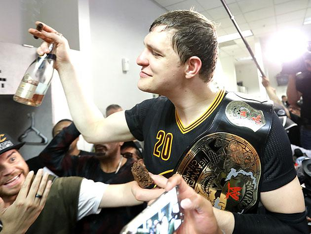Timofey's summer vacation has been fun, thus far. (Getty Images)