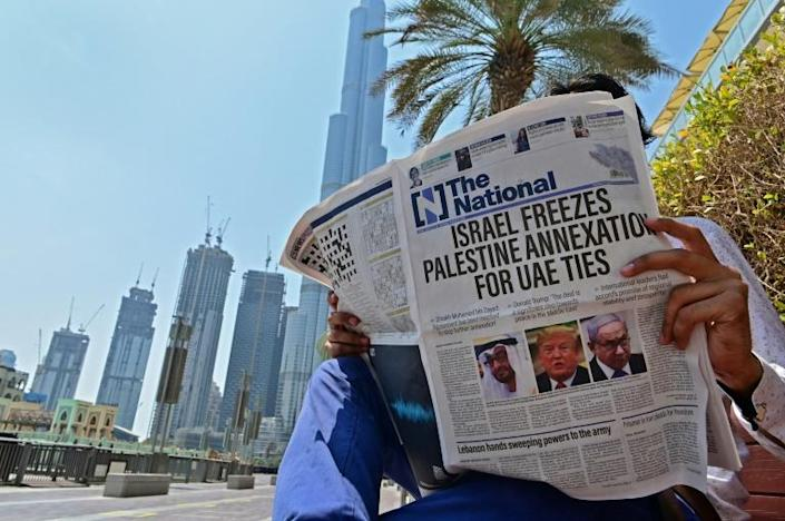 The UAE has defended the deal saying it brought an immediate halt to Israel's controversial plans to annex the West Bank