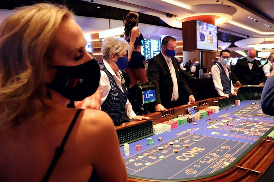 Circa Resort & Casino, the first new downtown Las Vegas hotel-casino in four decades, is now open.