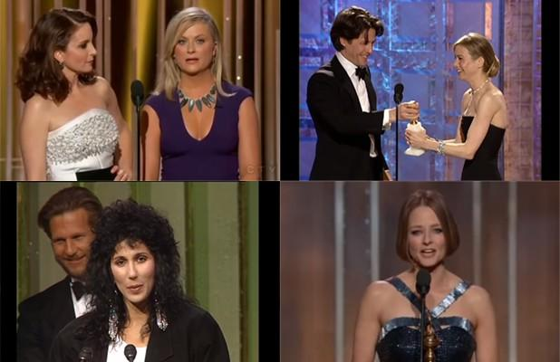 15 Most Memorable, Outrageous Golden Globes Moments of All Time (Videos)