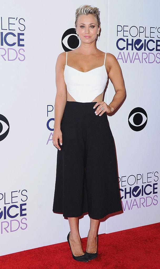 Kaley Cuoco won favorite comedy actress in 2015. (Photo: Getty Images)