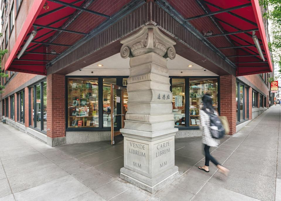 <p><strong>Can you give us an overview of this legendary Portland institution?</strong><br> Third-generation-owned Powell's City of Books, which occupies an entire city block on busy West Burnside, is most definitely the eighth wonder of the world; just ask any bibliophile. When the Powells founded their (now-iconic) family business in 1971, they had a simple, straightforward business model: put new and used hardcover and paperback titles all on the same shelf, stay open 365 days a year, and only hire people who were truly, madly, and deeply in love with books. One of the first adventurous entrepreneurs to set up shop in the now-trendy Pearl District in 1979, they ended up with what's now the world's largest new and used bookstore, with nearly a million books in stock, nine color-coded rooms, and 3,500 distinct sections, from Mystery to Meditation. Like any city, it's got its own map—pick one up at the information desk.</p> <p><strong>What's their collection like?</strong><br> You'll find new releases, longtime <em>New York Times</em> bestsellers, lightly dog-eared copies of Harry Potter, and ever-so-slightly boeuf bourguignon-spattered copies of <em>The Joy of Cooking</em>. But if you're looking for that elusive collectible or an out of print favorite, they've got that, too—not to mention a highly shoppable collection of greeting cards and non-generic giftables, so if you accidentally spend your whole trip inside the store and forget to souvenir shop, no need to panic. Anyway, what makes a better present than a soon-to-be beloved copy of Colin Meloy's <em>Wildwood</em> with an authentic Powell's sticker on the back? (Nothing, except maybe the entire trilogy.)</p> <p><strong>Say, hypothetically, we're in the mood for a splurge. Will we find the object of our desires?</strong><br> Head straight up the stairs to the third floor and into the 1,000-square-foot, antiques- and artwork-furnished Rare Book Room. Pick out the most fascinating, most beautiful signed first edi