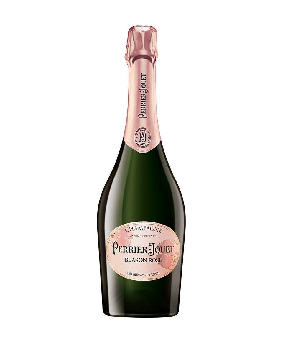 """<p><strong>Perrier-Jouët</strong></p><p>reservebar.com</p><p><strong>$89.00</strong></p><p><a href=""""https://go.redirectingat.com?id=74968X1596630&url=https%3A%2F%2Fwww.reservebar.com%2Fproducts%2Fperrier-jouet-blason-rose-brut-nv&sref=https%3A%2F%2Fwww.veranda.com%2Fluxury-lifestyle%2Fentertaining%2Fg36465407%2Frose-champagne-bottles%2F"""" rel=""""nofollow noopener"""" target=""""_blank"""" data-ylk=""""slk:Shop Now"""" class=""""link rapid-noclick-resp"""">Shop Now</a></p><p>Blason Rosé is the first sparkling rosé from the storied champagne house and features delightful notes of red and black fruit. Crafted with food in mind, this bottle is excellent for alfresco dinner parties and poolside happy hours alike.</p>"""