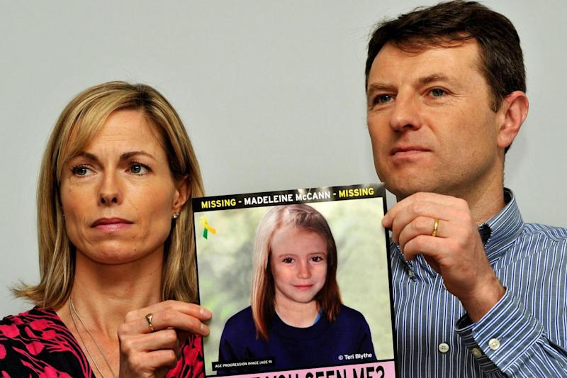 Plea: Gerry and Kate McCann (PA)