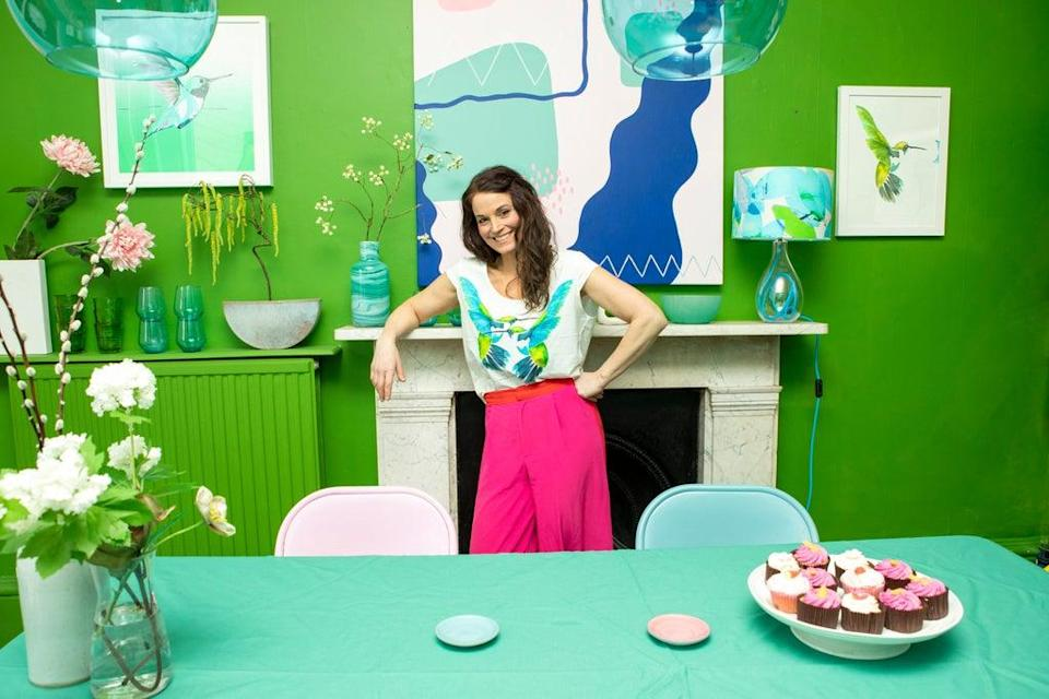 Anna runs step-by-step courses on how to master colour in your home  (Adrian Lourie)