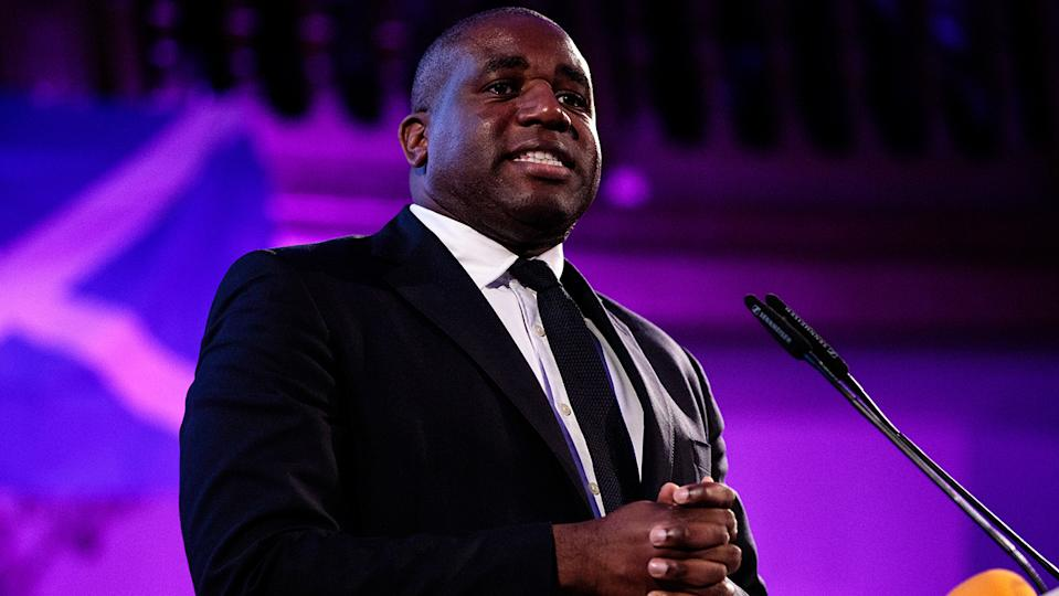 David Lammy, who was born and bred in Tottenham, said he's been accused of hating Britain (Image: Getty Images)