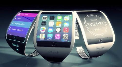 Concept image of Apple smartwatches