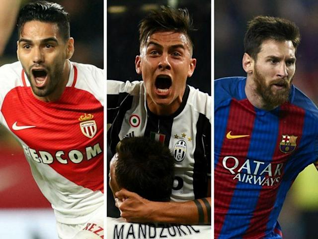 Will Radamel Falcao, Paulo Dybala and Lionel Messi make your Daily Fantasy team tonight?