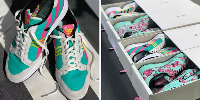 The Arizona Iced Tea x Adidas 99 Cent Sneaker Pop Up Got