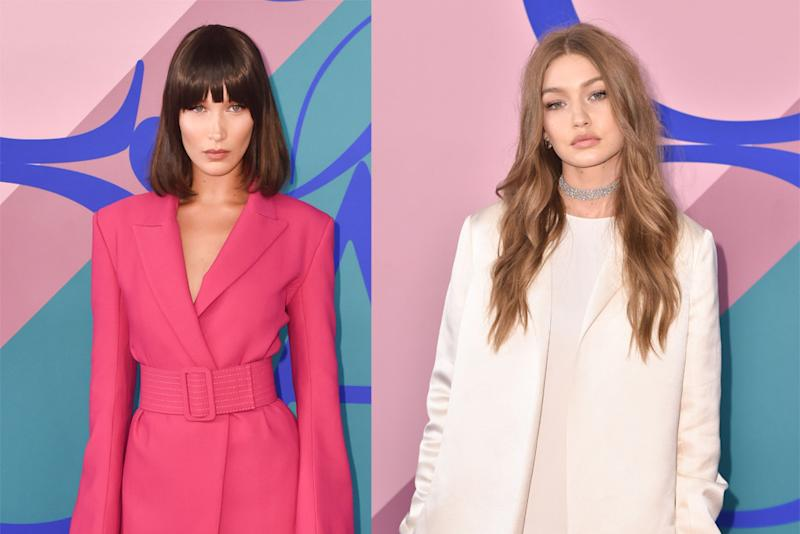 3e496a811305 Bella and Gigi Hadid Wore Totally Opposite Looks at the CFDA Awards