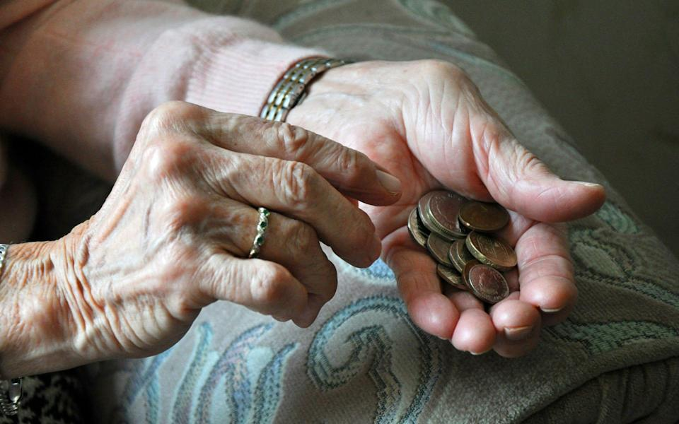 A new report by the National Audit Office found that more than £1 billion has been underpaid to 134,000 pensioners - Kirsty O'Connor/PA Wire