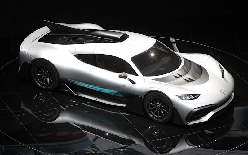 The new Project One hypercar is among the most exciting cars at the 2017 Frankfurt Motor Show - AFP