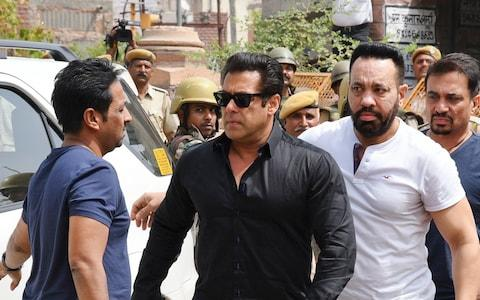 Khan, one of India's biggest actors, has a checkered history of brushes with the law