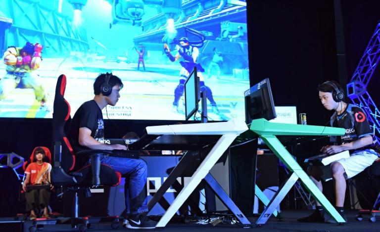 Visitors to the Tokyo Game Show are left in little doubt they are entering a male-dominated world
