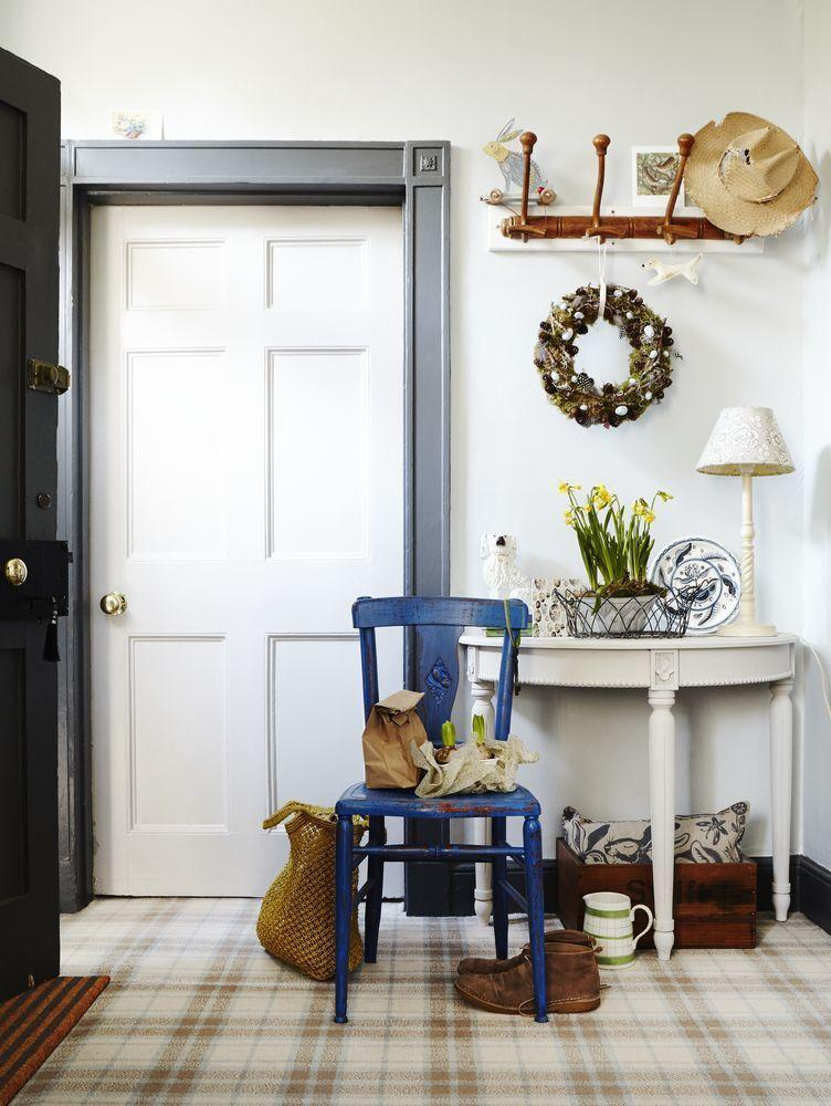 """<p>Tartan carpets are a classic design feature that can add a touch of country estate to your home. Tartan is a great way to establish your colour palette, typically incorporating three complementary shades - like the cream, duck egg blue and soft red in our Country Living Sylvan Axminster carpet pictured here. </p><p>Pictured: <a href=""""https://www.carpetright.co.uk/carpets/sylvan-axminster-carpet/"""" rel=""""nofollow noopener"""" target=""""_blank"""" data-ylk=""""slk:Sylvan Axminster Carpet at Carpetright"""" class=""""link rapid-noclick-resp"""">Sylvan Axminster Carpet at Carpetright</a>. Styling Alaina Binks, photography Penny Wincer</p>"""