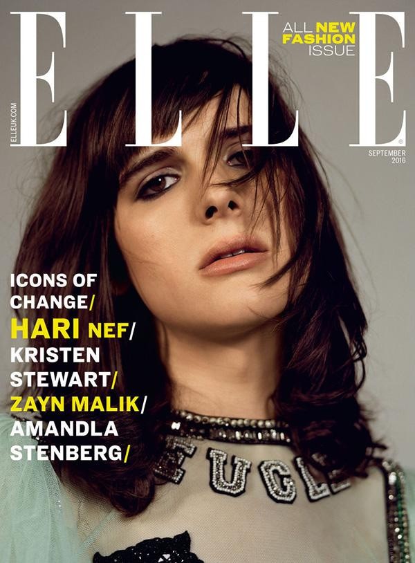 "<p>IMG Worldwide's first transgender model, Hari Nef, was featured on the cover of <i>Elle UK</i>'s September issue in 2016. For the issue, she shared her idea of the perfect world, saying, ""I wouldn't have to change my body. I wouldn't have to do all this stuff. I wouldn't have to be pretty, or 'feminine' and people would respect that."" (Photo: Elle UK) </p>"