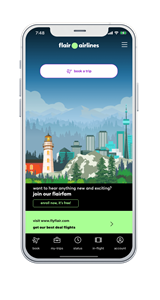 The new app is designed with simplicity and ease of use at its heart and features beautiful graphics inspired by some of Canada's best-loved landmarks.