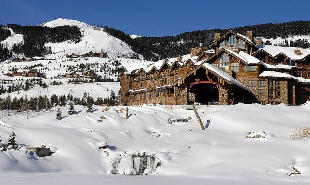 The Yellowstone Club near Big Sky, Montana, touts itself as the only private mountain ski resort in the world. On its <a href=