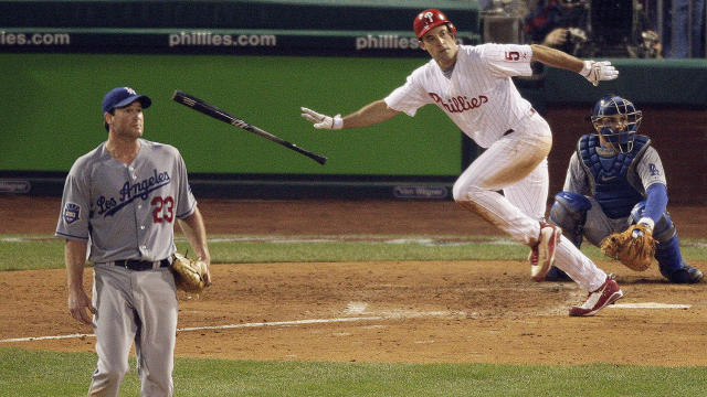 <p>Ten years ago today, Cole Hamels, Chase Utley and Pat Burrell led the Phillies to an NLCS Game 1 win en route to the World Series. Jim Salisbury relives the night.</p>