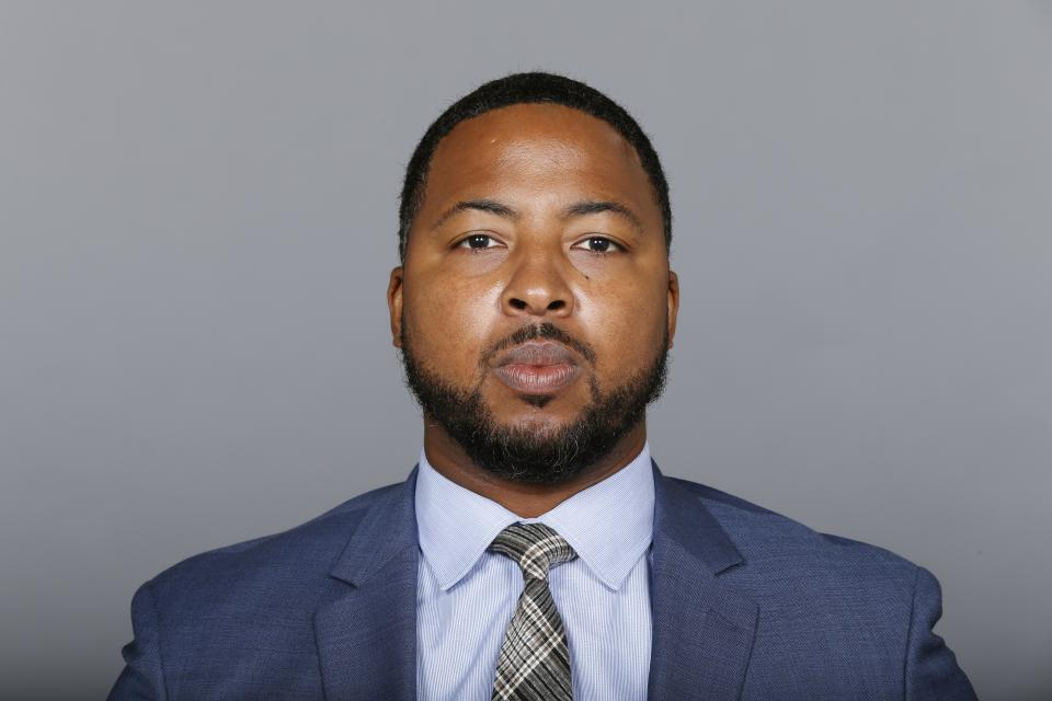 Maurice Linguist was hired away from the Dallas Cowboys by Michigan in January. (AP)
