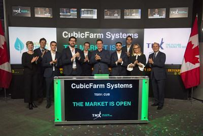 CubicFarm® Systems Corp. Opens the Market (CNW Group/TMX Group Limited)