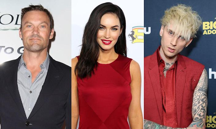 A new report claims Brian Austin Green is annoyed over ex Megan Fox and Machine Gun Kelly's relationship. (Photo: Getty Images)