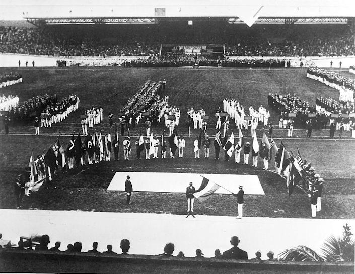 <p>The opening ceremony of the Summer Games starts to resemble our modern-day Olympics a bit more. This year would be the debut of the Olympic Flame, and the official structure of the parade of nations (with Greece first and the host country last). </p>