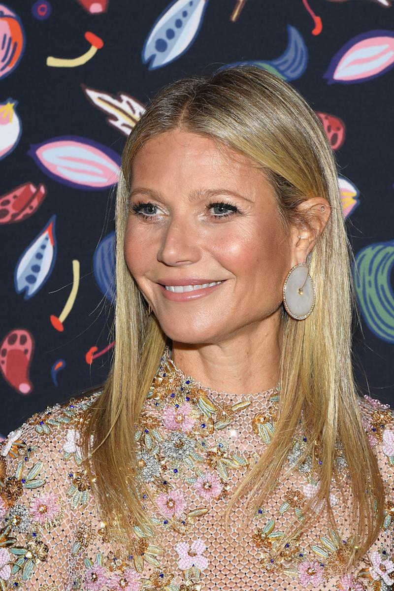 Gwyneth Paltrow attends the Harper's Bazaar Exhibition as part of the Paris Fashion Week Womenswear Fall/Winter 2020/2021 At Musee Des Arts Decoratifs on February 26, 2020 in Paris, France.