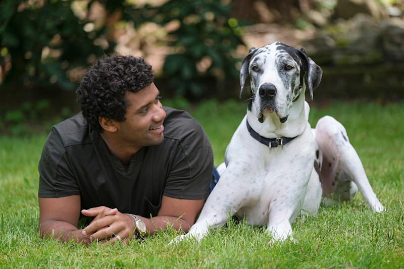 The Seattle Seahawks quarterback has joined the Banfield Foundation's Safer Together initiative in an effort to provide more resources to pet owners in abusive situations