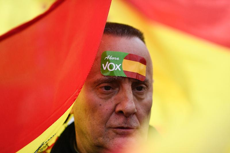 Far-right party Vox burst on to the political scene by winning 12 seats in southern Andalusia's regional parliament in December