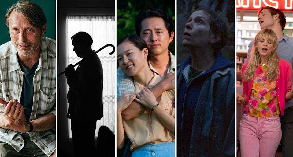 Another Round, Mank, Minari, Nomadland, Promising Young Woman all landed their directors Academy Award Nominations (Studiocanal/Netflix/Altitude/Disney/Sky Cinema)