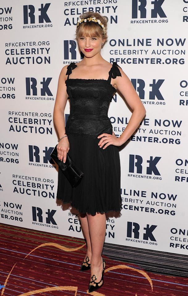 NEW YORK, NY - DECEMBER 03:  Dianna Agron attends the 2012 Ripple Of Hope Gala at The New York Marriott Marquis on December 3, 2012 in New York City.  (Photo by Stephen Lovekin/Getty Images)