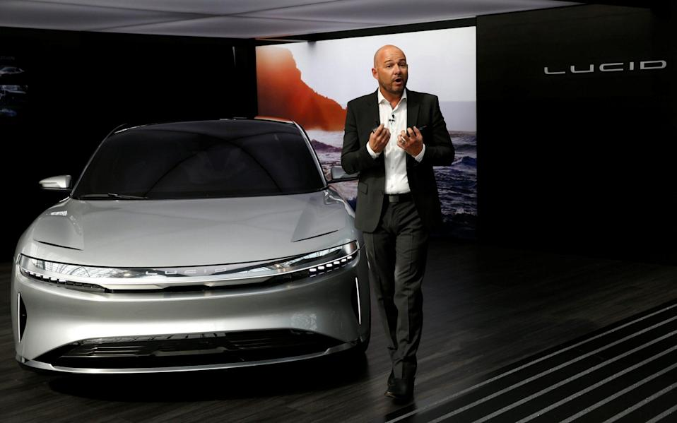 Lucid Air prototype introduced at the 2017 New York International Auto Show in New York, United States - Andrew Kelly /REUTERS