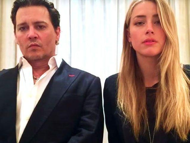 Johnny Depp and now-ex wife Amanda Heard say sorry to Australia. Source: The Australian Government