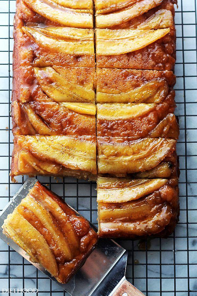"""<p>We'll take any excuse to add rum to our cakes.</p><p>Get the recipe from <a href=""""http://diethood.com/bananas-foster-upside-down-cake/"""" rel=""""nofollow noopener"""" target=""""_blank"""" data-ylk=""""slk:Diethood"""" class=""""link rapid-noclick-resp"""">Diethood</a>.</p>"""